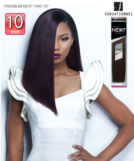 Sensationnel 100% HUMAN HAIR PREMIUM NEXT YAKI 10 - Human Hair Weave