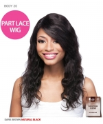 It¡¯s a wig Human Hair Part Lace Front Wig - HH BODY WAVE 20