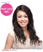 It¡¯s a wig Human Hair Part Lace Front Wig - HH NATURAL WAVE 20