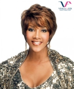 Vivica Fox Full Wig H311 - Human Hair Stretch Cap Full Wig