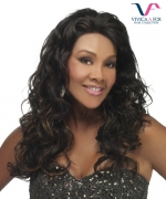 Vivica Fox Lace Wig EMBER - Remi Human DeeeP Lace Front Wig