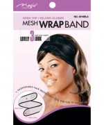Magic Collection Open Top Mesh Wrap Band Lovely Look Velcro-Closer