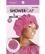 Magic Shower Cap Extra Large Assorted