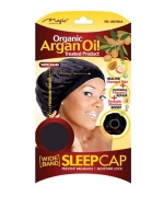 Magic  Organic  Argan Oil   Sleep Cap Black 3001BLA
