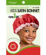 Magic Kids Satin Bonnet Assorted