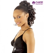 New Born Free Hair Piece - 195 FANCY Ponytail Draw String Hair Piece