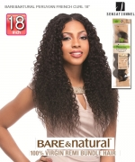 BARE&NATURAL PERUVIAN FRENCH CURL 18