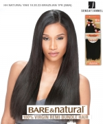 BARE&NATURAL NATURAL YAKI 18.20.22-BRAZILIAN 1PK