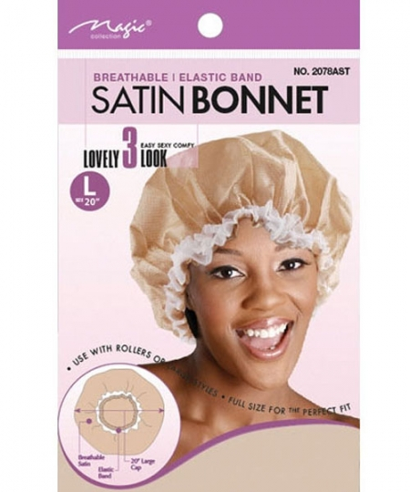 Magic Satin Bonnet Large