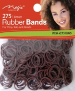Magic 275PCS Rubber Band Dark Brown