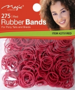 Magic 275PCS Rubber Band Red