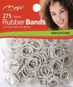 Magic 275PCS Rubber Band White