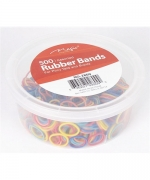 Magic 500PCS Rubber Band Assorted (Jar)