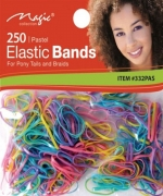 Magic 250PCS Elastic Bands Pastel