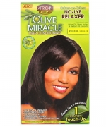 African Pride Olive Miracle No-Lye Relaxer Regular 1 Touch-Up