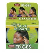 African Pride Olive Miracle Silky Smooth Edges 2.5 Oz.