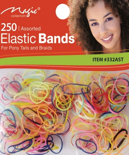 Magic 250 PCS Elastic Bands Assorted