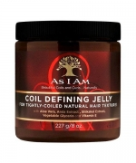 As I Am Coil Defining Jelly for Defining Tightly-coiled 8 oz