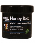 Ampro Honey Beez Wax - Black 4 oz