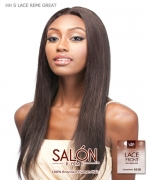 It's a wig Remi Human 100% Brazilian Lace Front - HH S LACE REMI GREAT