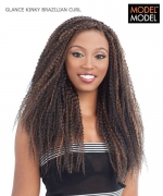 Model Model Braid - KINKY  BRAZILIAN CURL Synthetic Braid