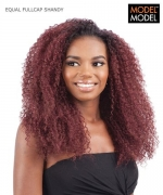 Model Model Half Wig - SHANDY EQUAL DRAWSTRING FULLCAP Synthetic Half Wig