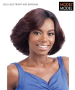 Model Model Lace Front Wig - BORONIA  Remi Human Hair Lace Front Wig