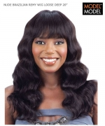 Model Model Full Wig - BRAZILIAN LOOSE DEEP 20 UNPROCESSED BRAZILIAN VIRGIN REMY   Human Hair