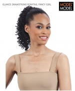 Model Model PONYTAIL - FANCY GIRL DRAWSTRING PONYTAIL