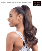 Model Model PONYTAIL - ROMANTIC GIRL DRAWSTRING PONYTAIL