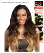 Model Model Weave Extention - BODY BUNDLE WAVE 7PCS (16.18.20+CLOSURE)