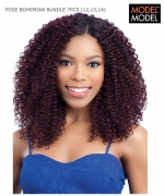 Model Model Weave Extention - BOHEMIAN BUNDLE 7PCS (12.13.14+CLOSURE)