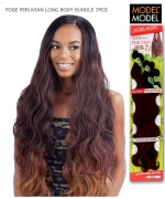 Model Model Weave Extention - LONG BODY BUNDLE 7PCS(22.24.26+CLOSURE)
