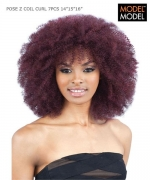 Model Model Weave Extention - Z COIL CURL 7PCS(14.15.16+CLOSURE) PERUVIAN