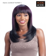 Model Model Full Wig - NUMBER 1 CLEANCAP Synthetic Full Wig