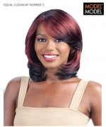 Model Model Full Wig - NUMBER 2 CLEANCAP Synthetic Full Wig