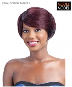 Model Model Full Wig - NUMBER 5 CLEANCAP Synthetic Full Wig