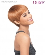 Outre Full Wig  - BOWL CUT Premium Duby Human Hair Full Wig