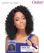 Outre Lace Front Wig - DONNA Lace L PARTING Synthetic Lace Front Wig