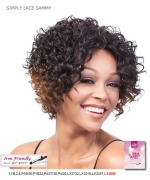It's a wig Futura Synthetic Lace Front Wig - SIMPLY LACE SAMMY