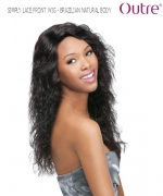 Outre Lace Front Wig - BRAZILIAN NATURAL BODY  Non-Prosessed SIMPLY Lace Front Wig Remi Human Hair Lace Front Wig