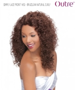 Outre Lace Front Wig - BRAZILIAN NATURAL CURLY   Non-Prosessed SIMPLY Lace Front Wig Remi Human Hair Lace Front Wig
