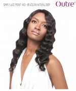Outre Lace Front Wig - BRAZILIAN NATURAL DEEP   Non-Prosessed SIMPLY Lace Front Wig Remi Human Hair Lace Front Wig