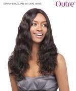 Outre Lace Front Wig - BRAZILIAN NATURAL WAVE  Non-Prosessed SIMPLY Lace Front Wig Remi Human Hair Lace Front Wig