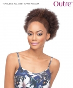 Outre Ponytail - AFRO MEDIUM TIMELESS ALL ONE Synthetic  Ponytail