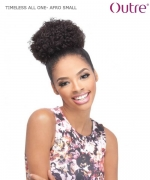 Outre Ponytail - AFRO SMALL TIMELESS ALL ONE Synthetic  Ponytail