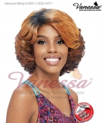 Vanessa Full Wig SUPER C-SIDE PATTY - Synthetic Lace Part  Full Wig