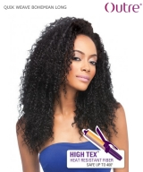 Outre Half Wig - BOHEMIAN LONG QUIK WEAVE Synthetic  Half Wig