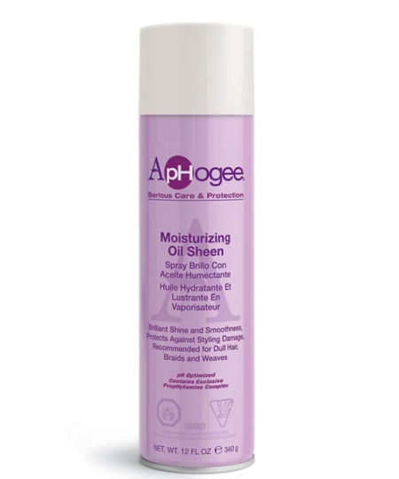 Aphogee Oil Sheen Spray 12 oz