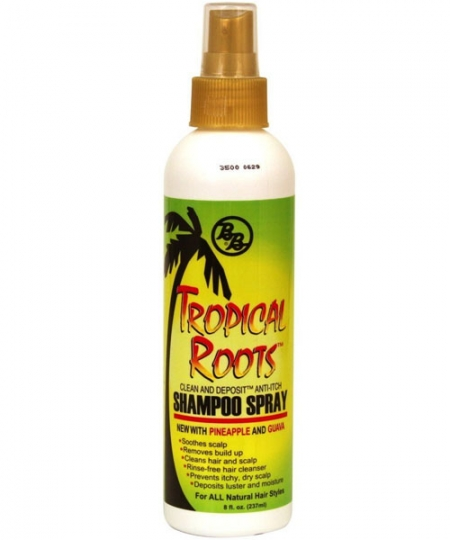Bronner Brothers Tropical Roots Shampoo Spray 8oz